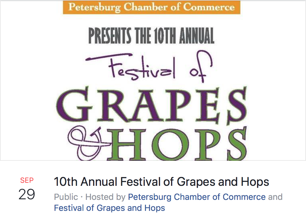 10th Annula Festival of Grapes and Hops