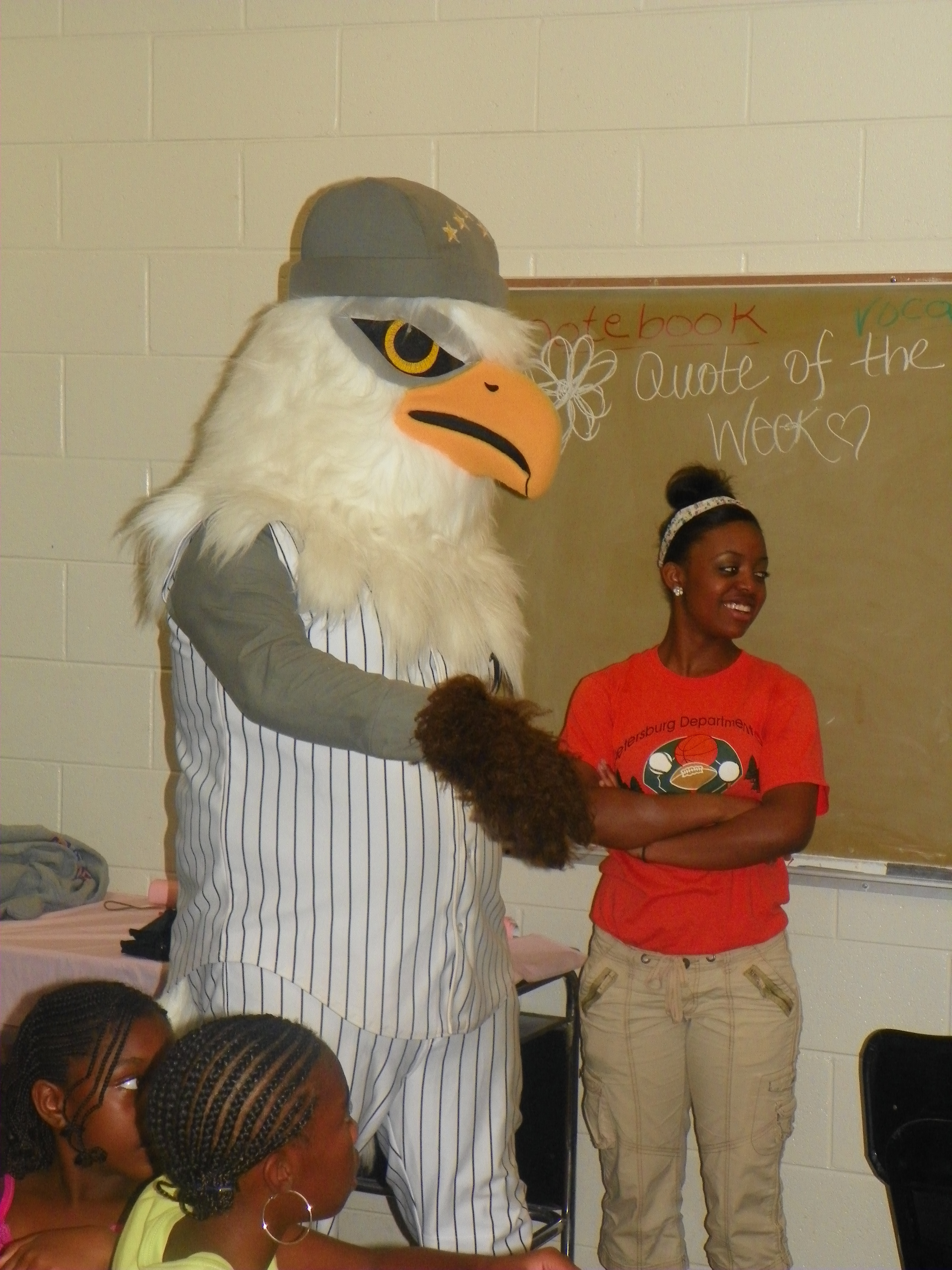 Petersburg Generals Mascot - Peter S. Bird