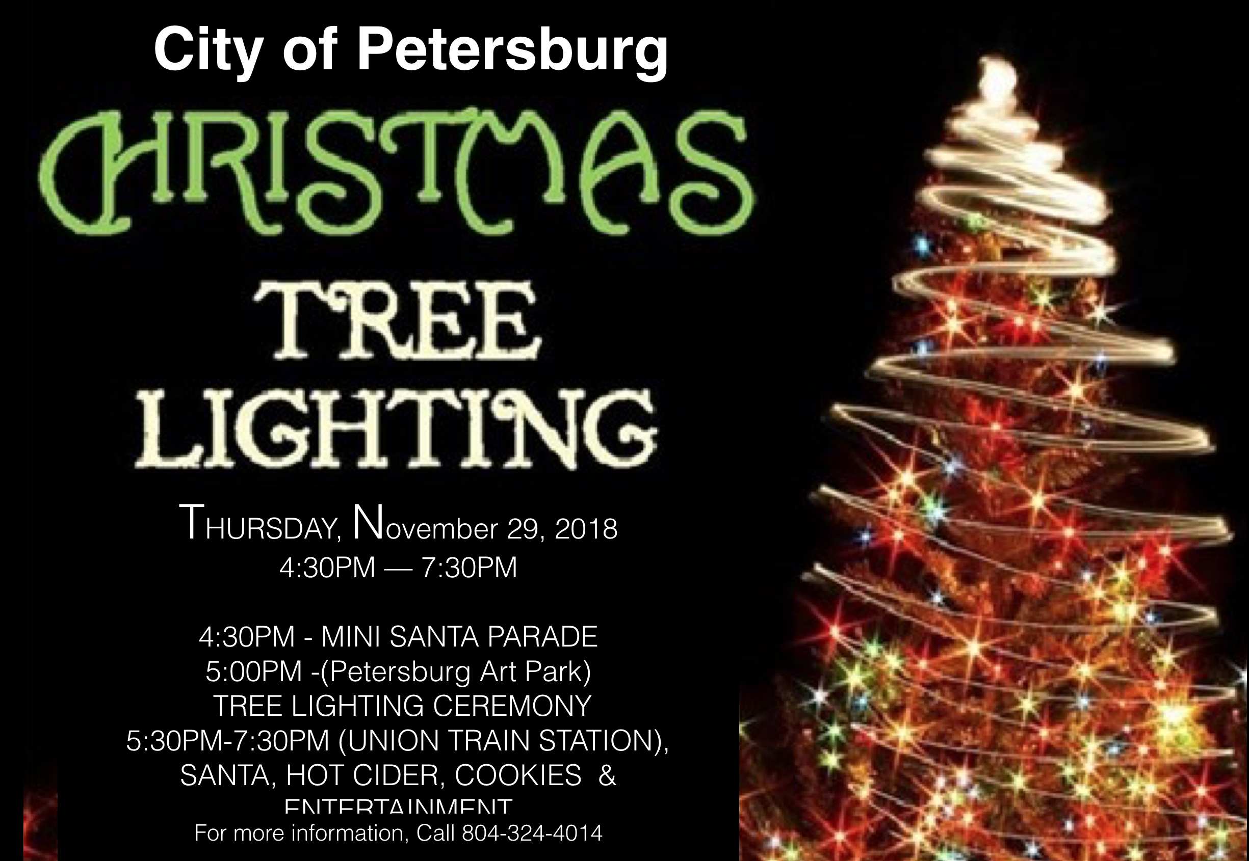 2018 Petersburg Tree Lighting